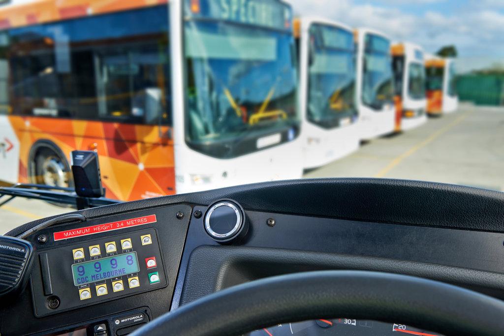 מרכיבים מובילאיי באוטובוסים באוסטרליה